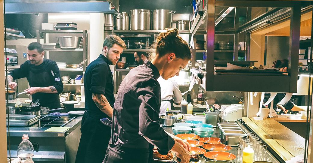 Trendy Chef: Sophia Rudolph vom Panama Restaurant in Berlin