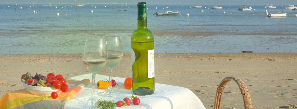 Mit Weißweinen aus Bordeaux den Sommer feiern