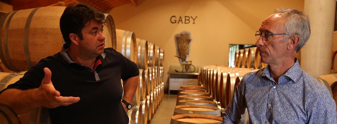 Les souvenirs d'enfance au Château Gaby avec Jean-Pierre