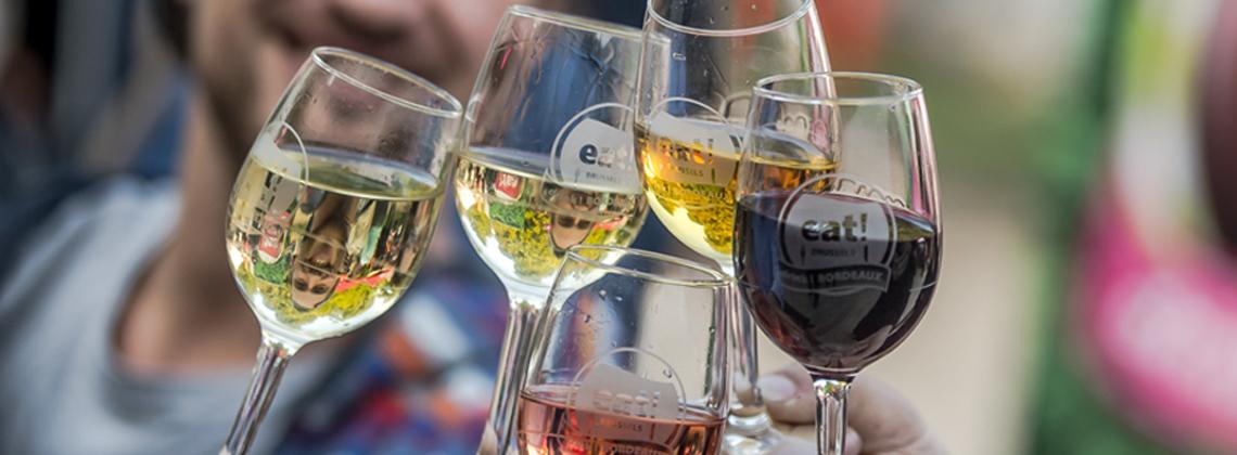 7de editie van het festival eat! BRUSSELS, drink BORDEAUX: programma en nieuwigheden