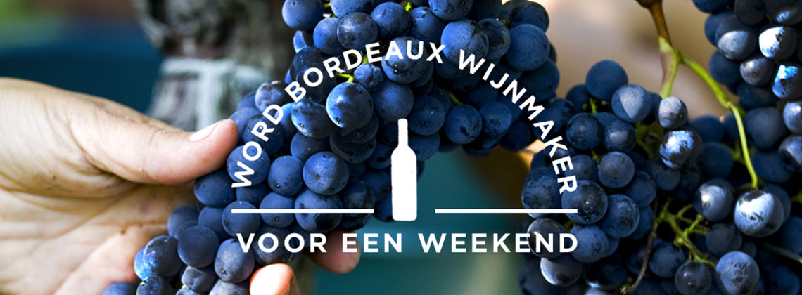 Win een weekend bij een wijnmaker uit Bordeaux!
