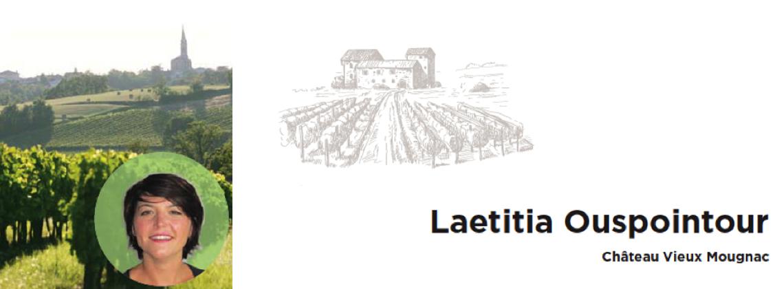 Ontmoeting met Laetitia Ouspointour