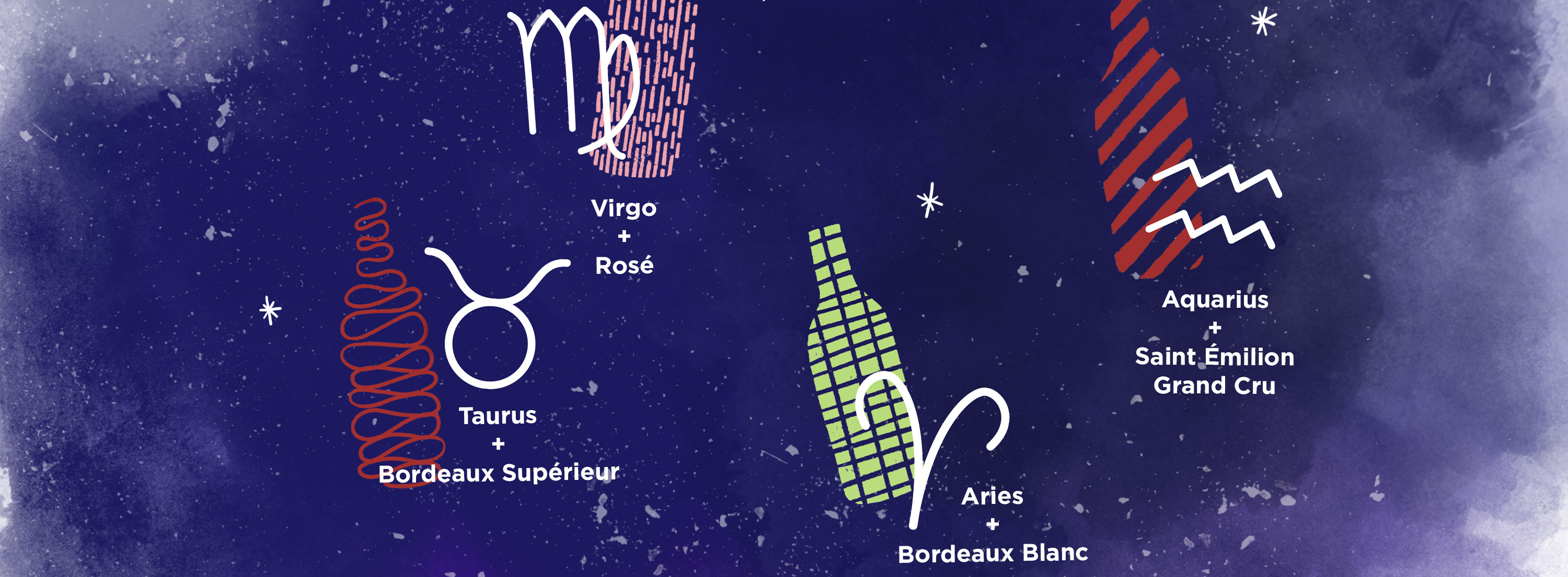 Which kind of Bordeaux wine best suits your astrological sign?