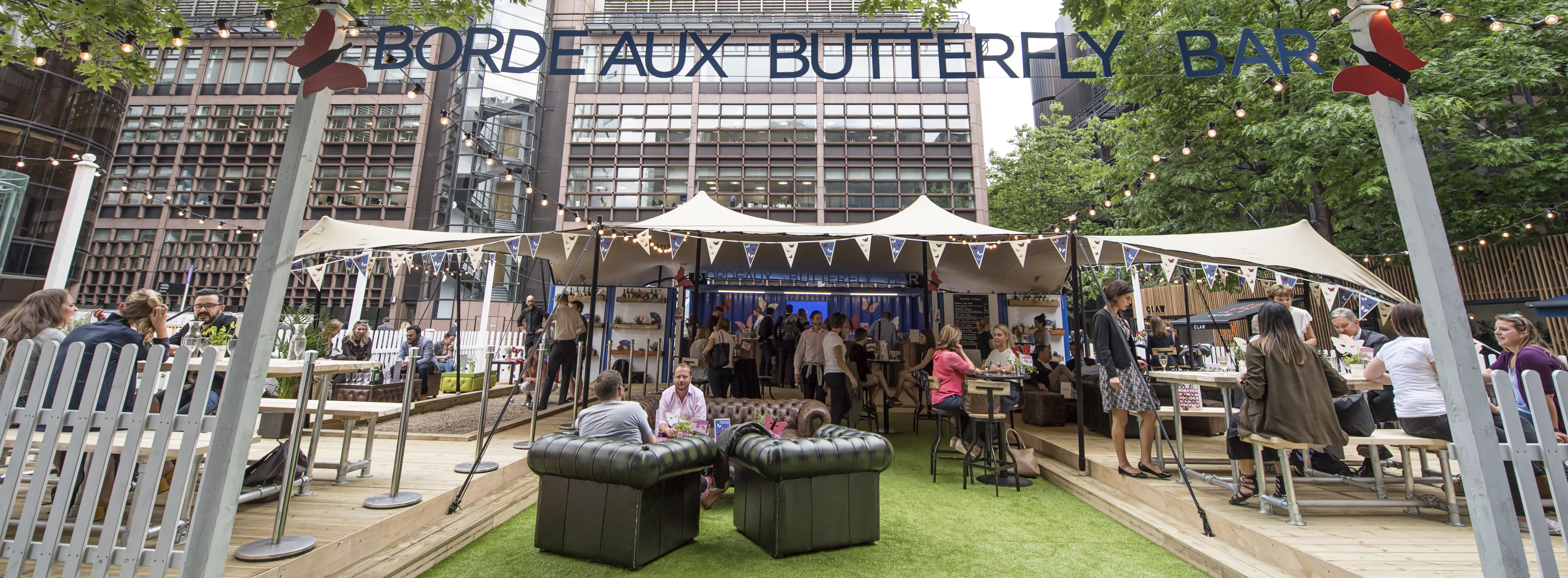 The Bordeaux Butterfly Bar flutters back to London