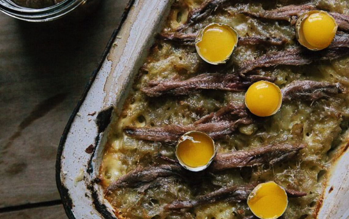 Marie Forsberg's Salty Anchovy Dish
