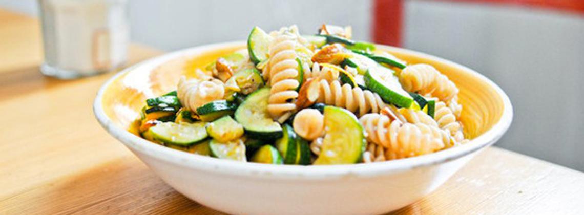 Lavendar & Lovange's Spring pasta recipe