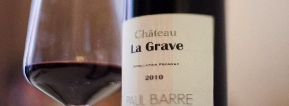 Sommelier's Choice: Chateau La Grave 2010