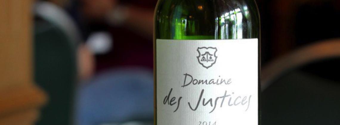 Sommelier's Choice: Domaine des Justices Bordeaux Blanc 2014