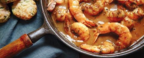 Chef Emeril Lagasse's Easy Barbecue Shrimp Recipe