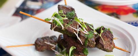 Chef Jose Garces' Alambres de Carne Recipe