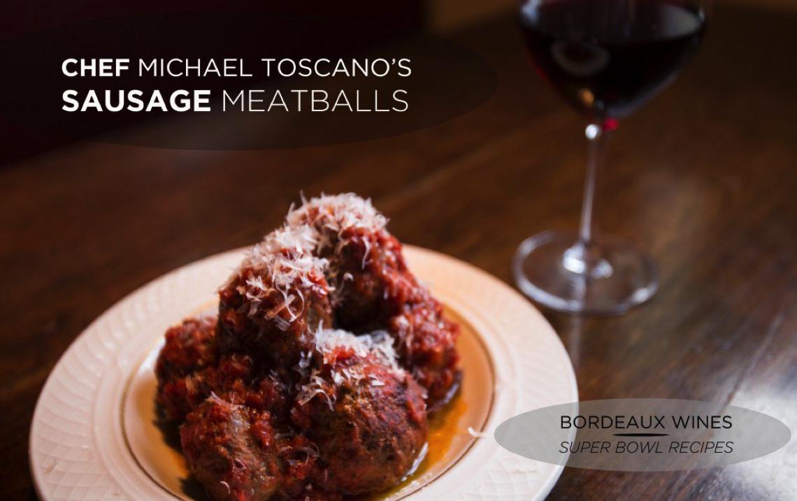 Bordeaux Wines' Super Bowl Recipes: Sweet Italian Sausage Meatballs