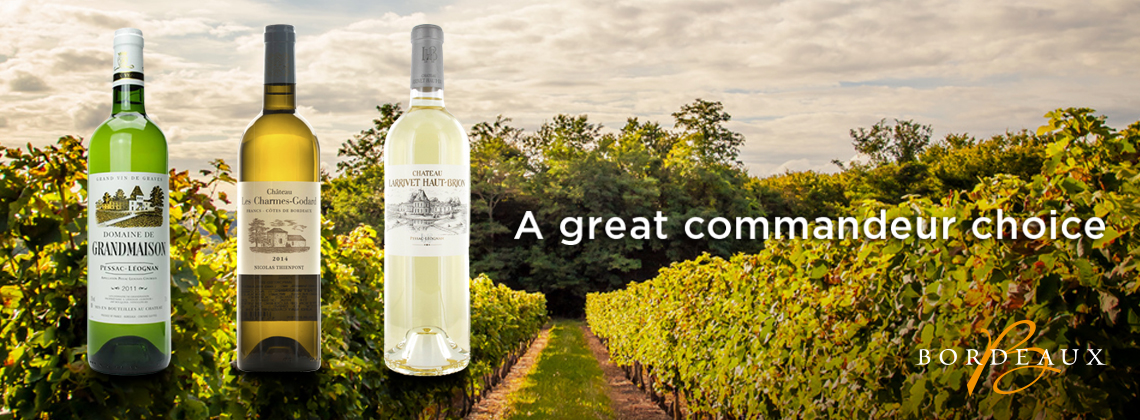 "Dry White Bordeaux – The Commanderie de Bordeaux' just announced its 2017 ""Commandeurs Choice – Affordable Bordeaux wines"" ."