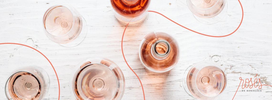 Rosé, l'été Bordelais, le renouveau des rosés de Bordeaux