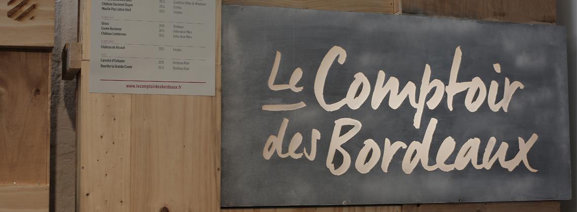 C'est aussi la rentrée pour les Comptoirs des Bordeaux!