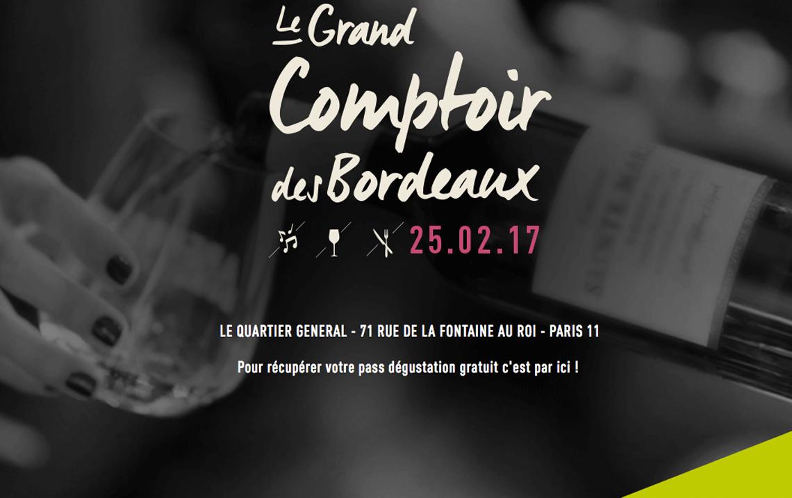 Le Comptoir des Bordeaux devient Grand!