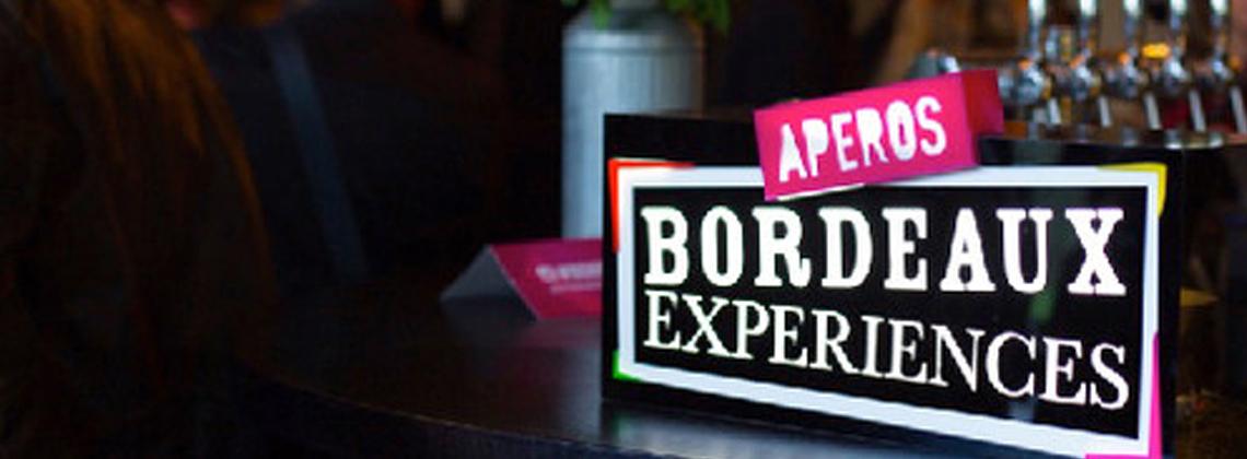 Apéros Bordeaux Expériences : nouvelles dates !