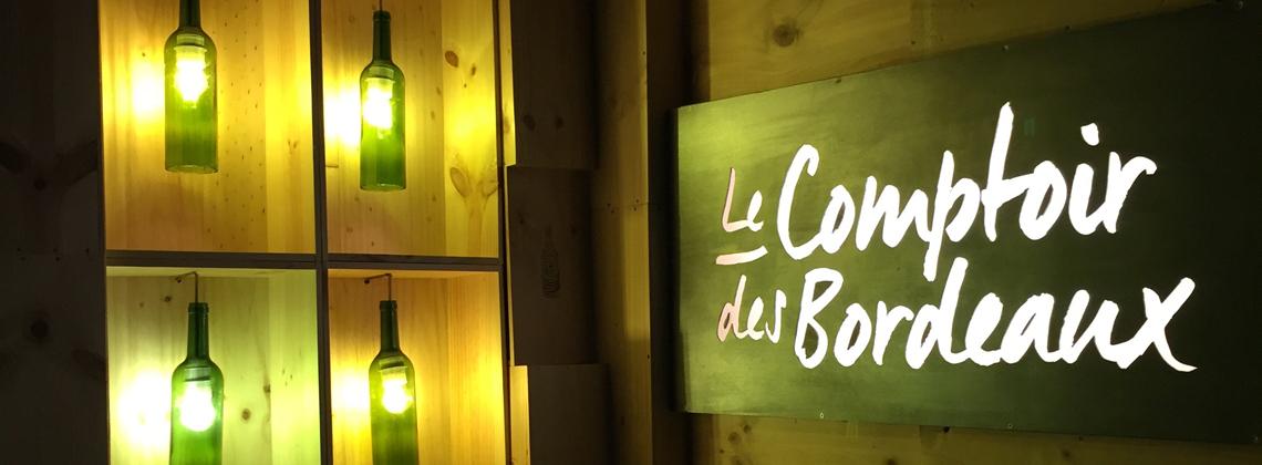 Le Comptoir des Bordeaux : les vins de Bordeaux sont de sortie !