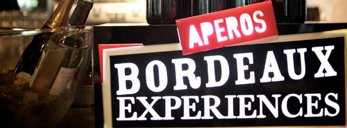 Le retour des Apéros Bordeaux Expériences
