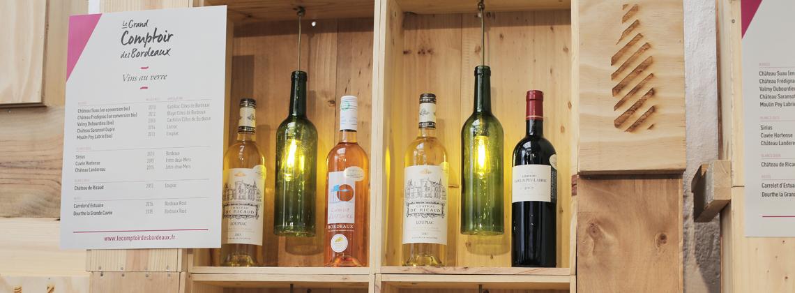 Recyclez vos bouteilles de Bordeaux et laissez parler votre créativité !
