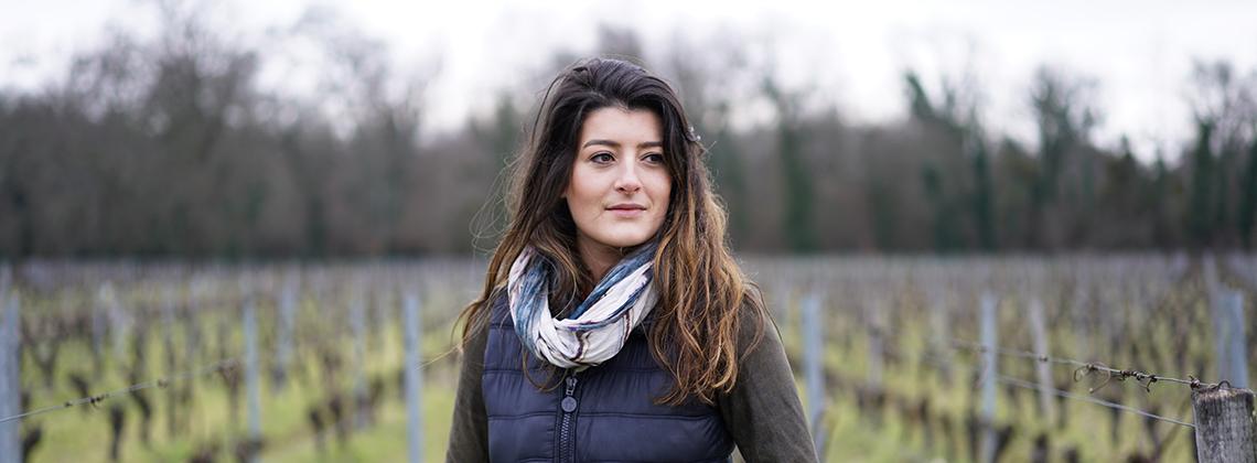 Léa Rodrigues-Lalande, jeune, femme et vigneronne
