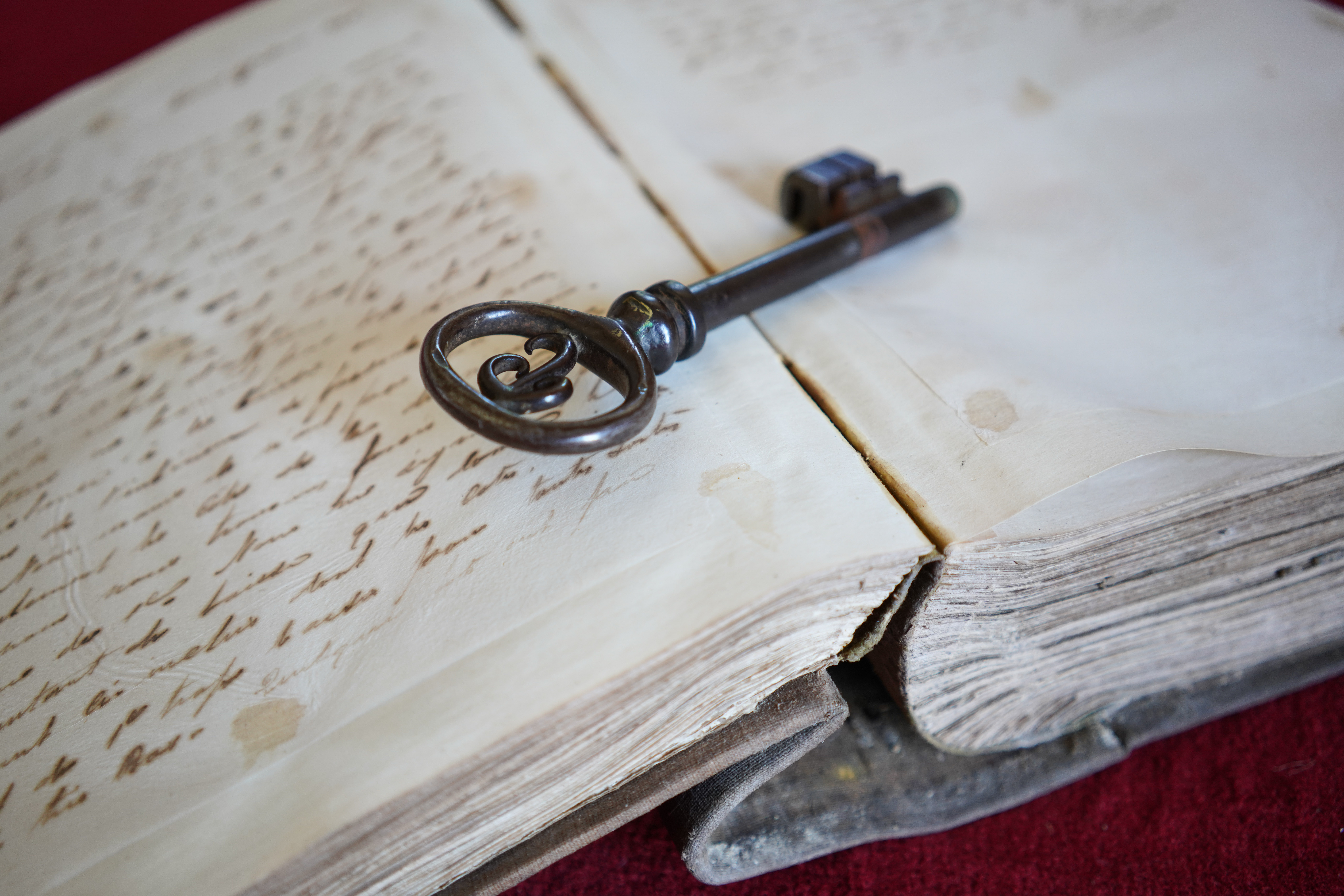 lettre livre clé