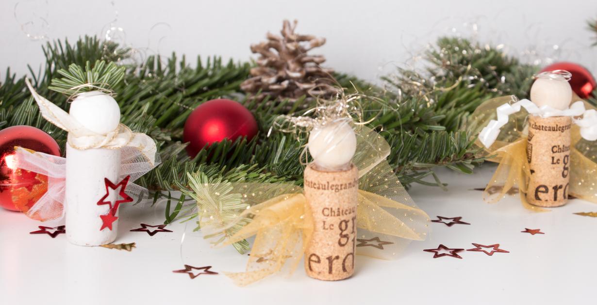 Weihnachtsengel Aus Korken Fur Den Tannenbaum Offizielle Website