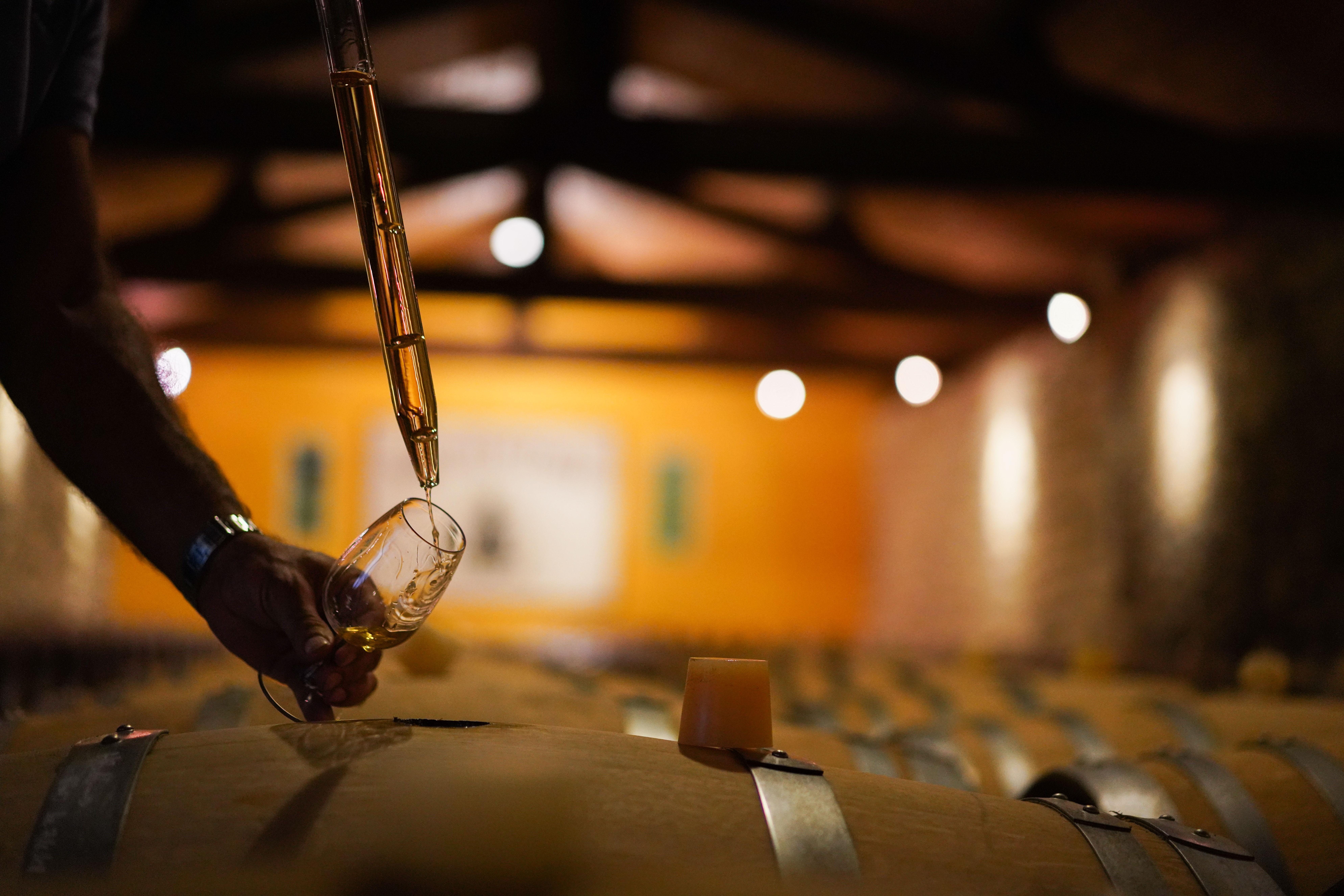 wijnproeverij wijnkelder kelder