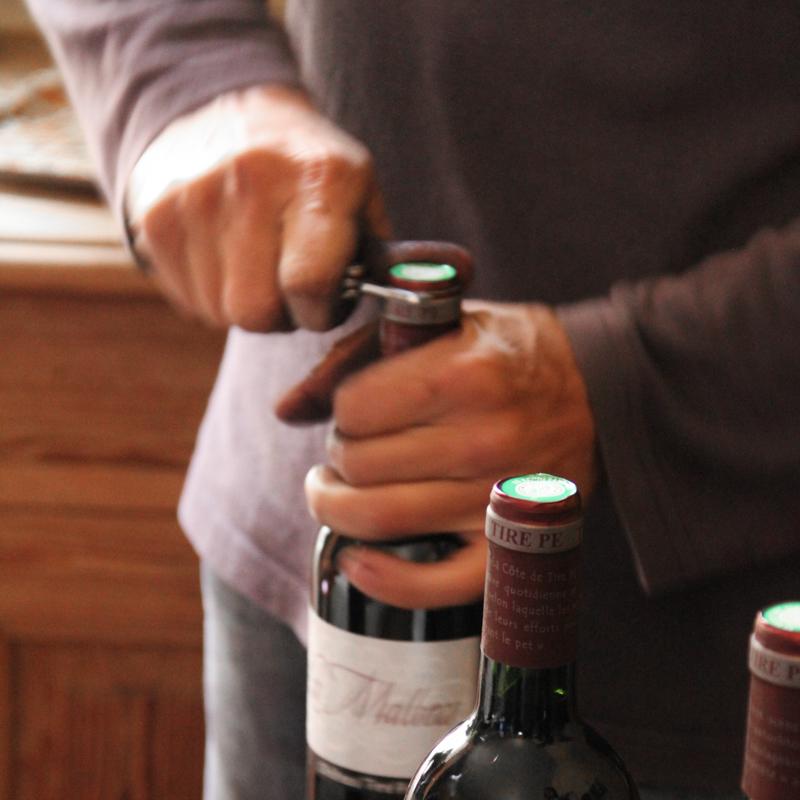 wijn wijopener kurk