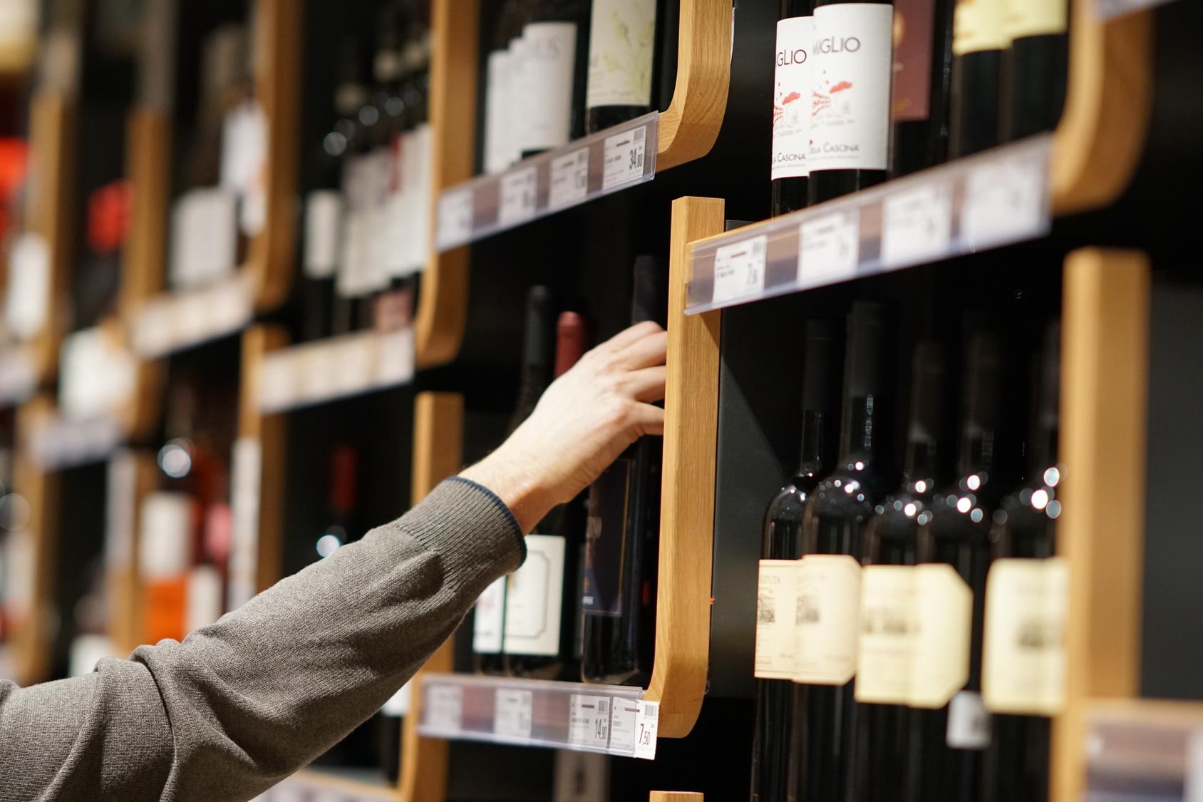 wijnpromotie winkel wijn